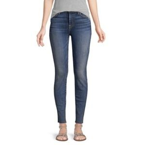 "7 FOR ALL MANKIND ""The High Waist Ankle""  JEANS"